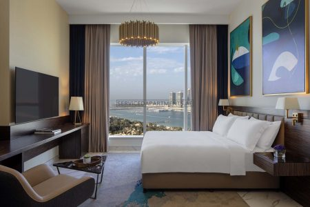 Furnished Studio Hotel Apartment in Avani Palm View Dubai Hotel & Suites
