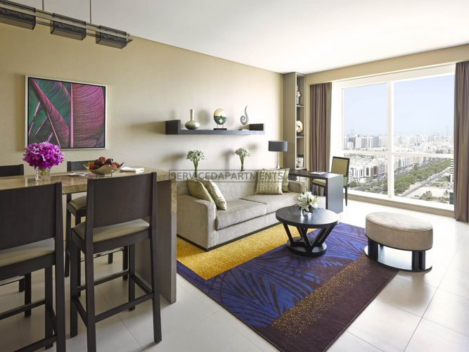 Furnished 1-Bedroom Hotel Apartment in Dusit Thani Abu Dhabi