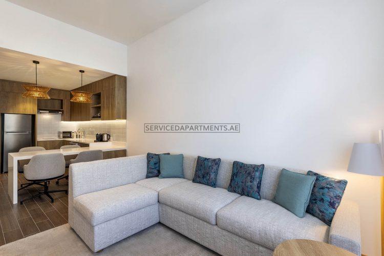 Furnished 1-Bedroom Hotel Apartment in Element Al Mina