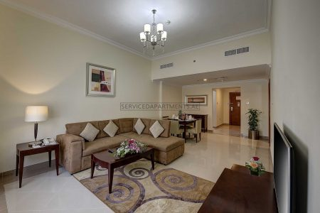 Furnished 1-Bedroom Hotel Apartment in Rose Garden Hotel Apartment