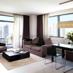 Furnished 2 Bedroom Hotel Apartment in Radisson Blu Hotel Apartments