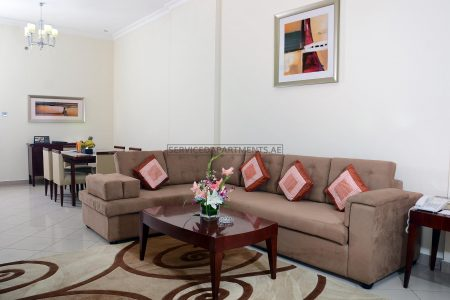 Furnished 2-Bedrooms Hotel Apartment in Rose Garden Hotel Apartment