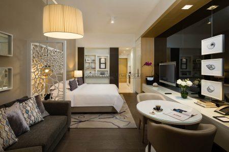 Furnished Studio Hotel Apartment in Beach Rotana Residences