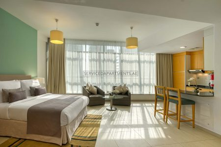 Furnished Studio Hotel Apartment in Grand Heights Hotel Apartments
