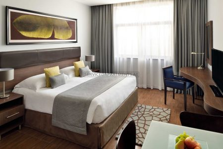 Furnished Studio Hotel Apartment in Movenpick Hotel & Apartments