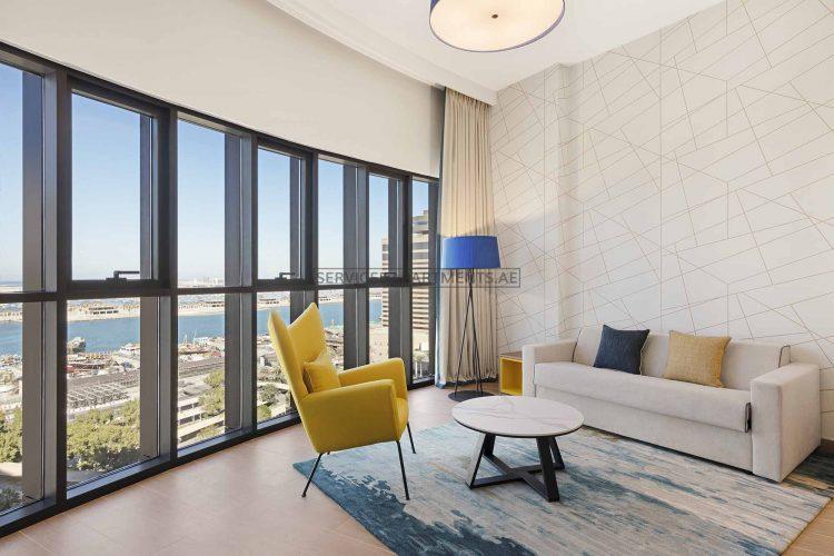 Furnished 1-Bedroom Hotel Apartment in Aparthotel Adagio
