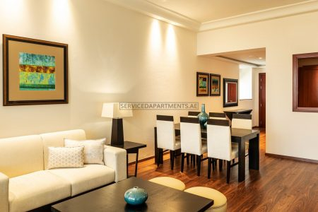 Furnished 1-Bedroom Hotel Apartment in Grosvenor House Dubai