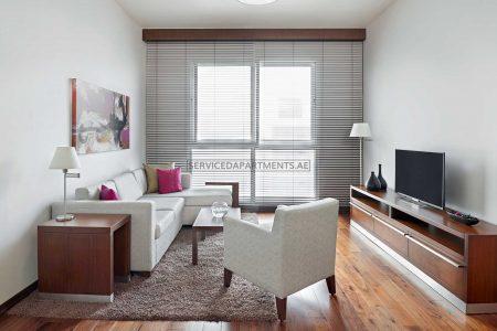 Furnished 1-Bedroom Hotel Apartment in Hyatt Place Dubai Al Rigga Residences