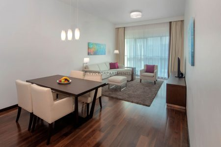 Furnished 1-Bedroom Hotel Apartment in Hyatt Place Dubai Jumeirah Residences