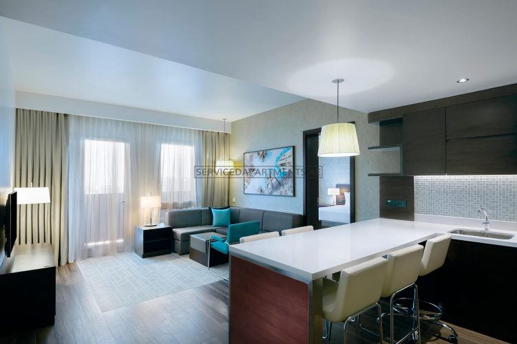 Furnished 1-Bedroom Hotel Apartment in Hyatt Place Dubai Wasl District Residences