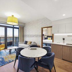 Furnished 2-Bedrooms Hotel Apartment in Aparthotel Adagio