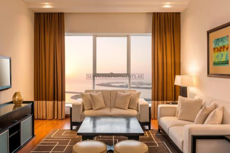 Furnished 2-Bedrooms Hotel Apartment in Grosvenor House Dubai
