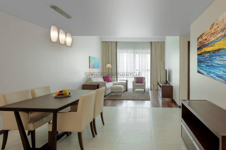 Furnished 2-Bedrooms Hotel Apartment in Hyatt Place Dubai Jumeirah Residences
