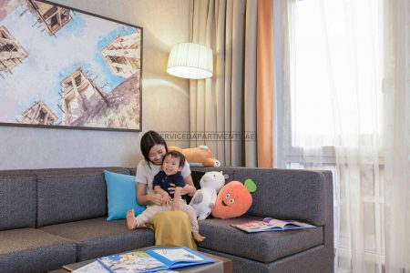 Furnished 2-Bedrooms Hotel Apartment in Hyatt Place Dubai Wasl District Residences