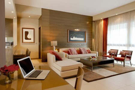 Furnished 2-Bedrooms Hotel Apartment in Park Arjaan Rotana
