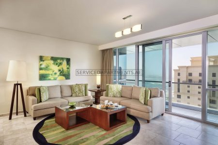 Furnished 3-Bedrooms Hotel Apartment in JA Oasis Beach Tower