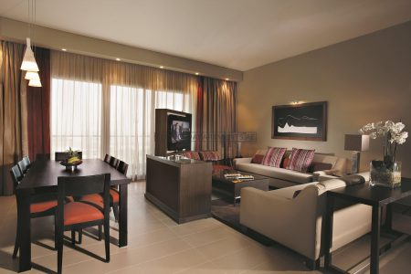 Furnished 3-Bedrooms Hotel Apartment in Park Arjaan Rotana
