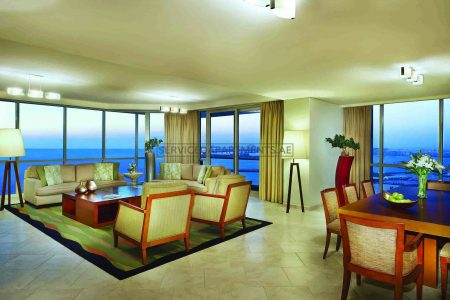 Furnished 4-Bedrooms+ Hotel Apartment in JA Oasis Beach Tower