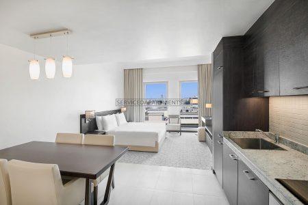 Furnished Studio Hotel Apartment in Hyatt Place Dubai Jumeirah Residences