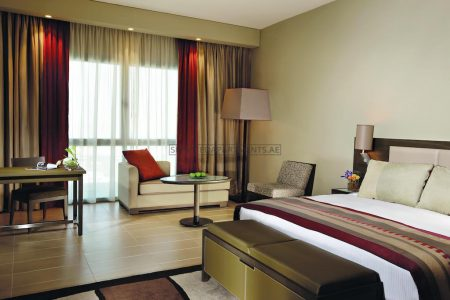Furnished Studio Hotel Apartment in Park Arjaan Rotana