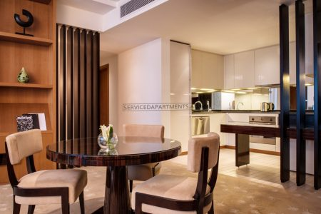 Furnished 1BR Hotel Apartment in Intercontinental Residence DFC