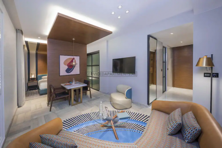 Furnished Studio in Andaz by Hyatt Palm Jumeirah Residences
