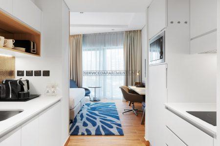 Furnished Studio Apartment in Adagio Premium The Palm