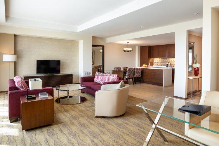 Furnished 1 Bedroom Hotel Apartment in Swissôtel Living Al Ghurair