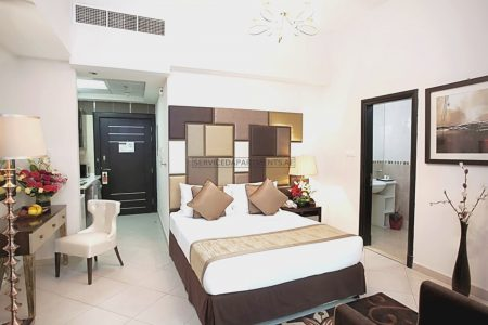 Furnished Studio Hotel Apartment in Al Waleed Palace - Oud Metha