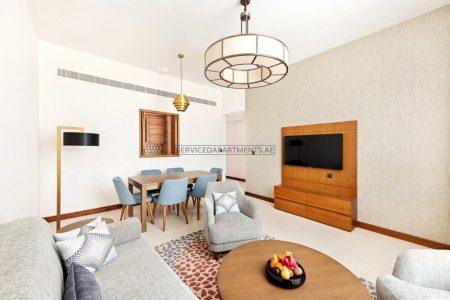 Furnished 1 Bedroom Hotel Apartment in Staybridge Suites Dubai Al Maktoum