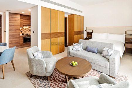 Furnished Studio Hotel Apartment in Staybridge Suites Dubai Al Maktoum